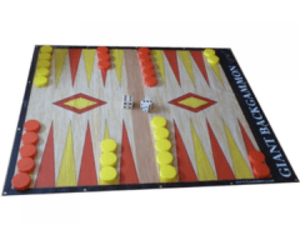 Giant Backgammon
