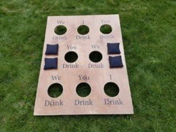 Corn Hole Drinking Game