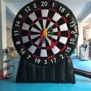 Giant 10 foot Dartboard baseball toss