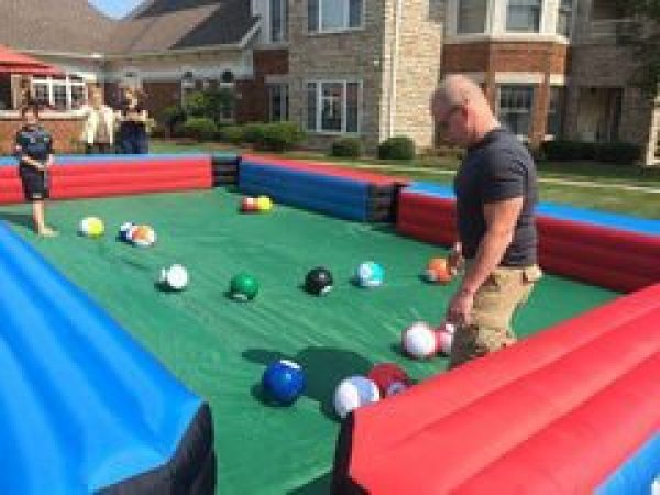 Giant Foot / Pool Billiards