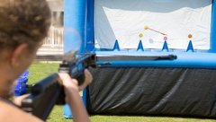hoverball archery rental