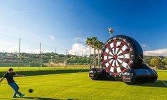 giant soccer dart rental
