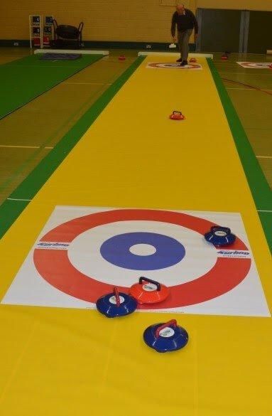 Curling Game Rental
